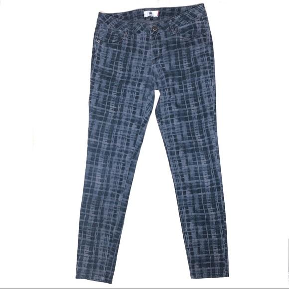 CAbi Denim - CAbi Jeans Grid Print Skinny Jeans